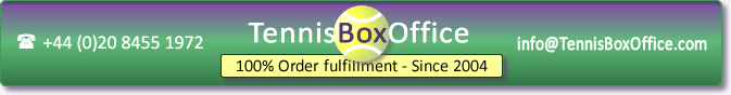 Buy Wimbledon tickets by telephone on +44 20 8455 1972 or by email to 'info@tennisboxoffice.com'