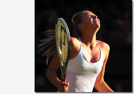Wimbledon Ladies' Singles Champion 2004, Maria Sharapova